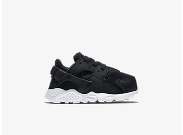 Nike Huarache Run TD Black/White 704950-011