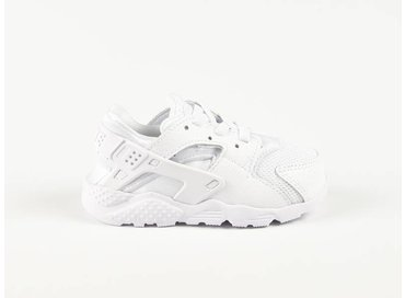 Nike Huarache Run TD White/White-Pure Platinum 704950-110