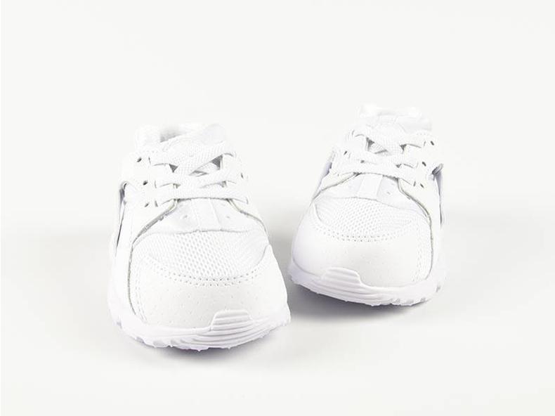 Huarache Run TD White/White-Pure Platinum 704950-110