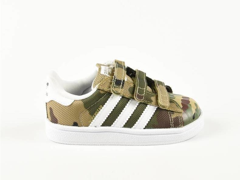 Superstar CF I Camo Black/Green/White S79608