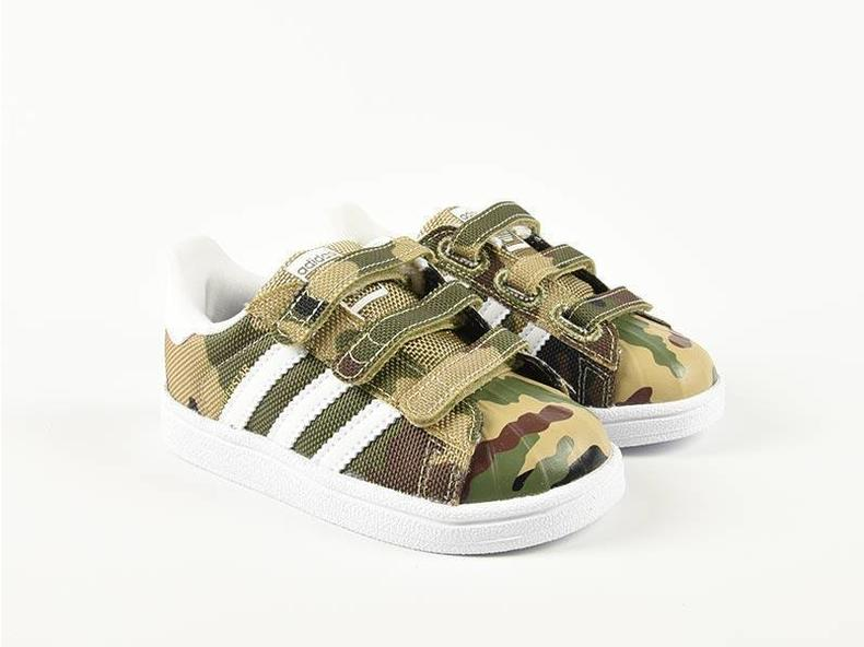 tmxbv Adidas Superstar CF I Camo Black/Green/White S79608 - Bruut