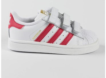 Adidas Superstar Foundation CF I White/Pink B23639