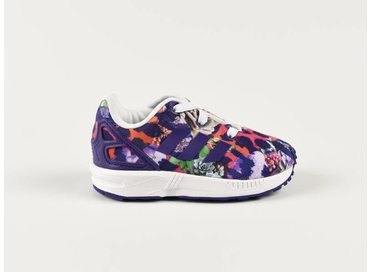 ZX FLUX EL I Purple/Purple/White S76315