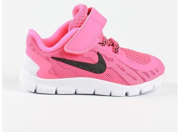 Nike Free 5 TDV Pink Pow/Black 725117 600