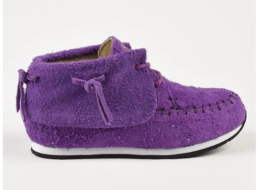 Akid Stone Purple Suede