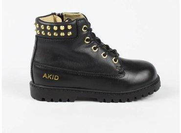 Akid Atticus Black Gold Stud