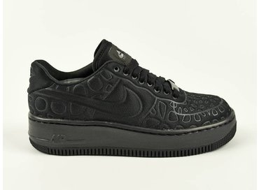 Nike WMNS Air force 1 Upstep SE Black/Black 844877 002