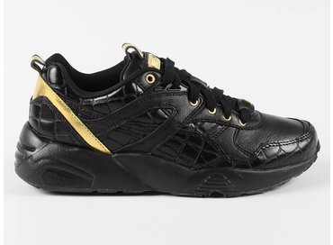 Puma R698 Exotic Wn's Black/Gold 360909 01