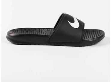 Nike Benassi Swoosh Black/White 312618 011