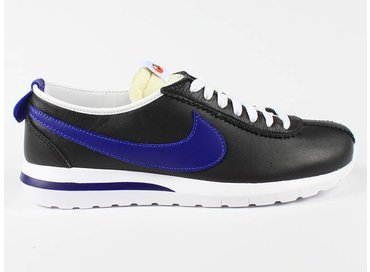 Nike Roshe Cortez NM Leather Black/Royal Blue 826332 004