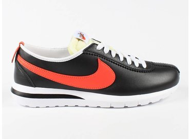Nike Roshe Cortez NM LTR Black/Orange/White 826332 008