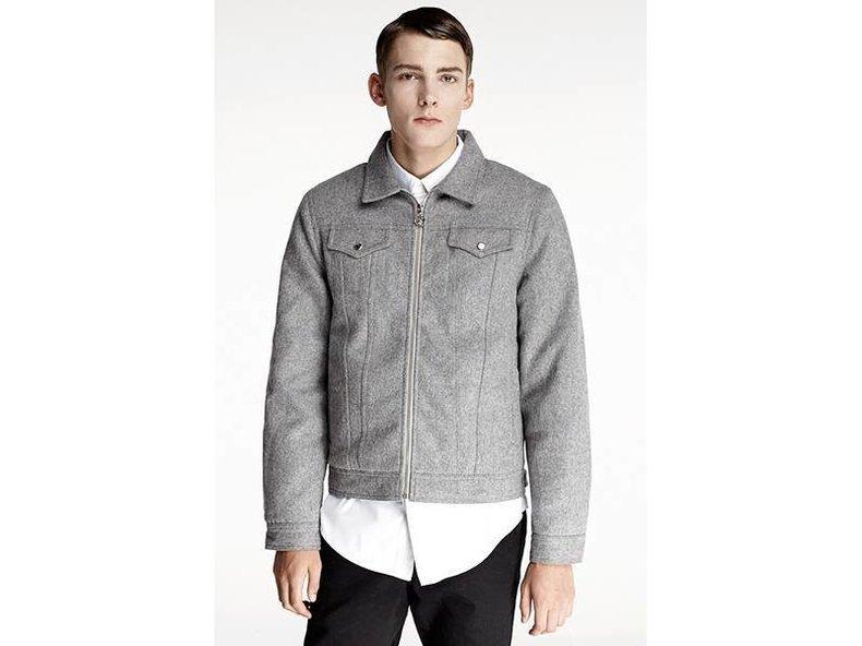 Grey Wool Denim Jacket FW1558