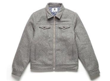 Daily Paper Grey Wool Denim Jacket FW1558
