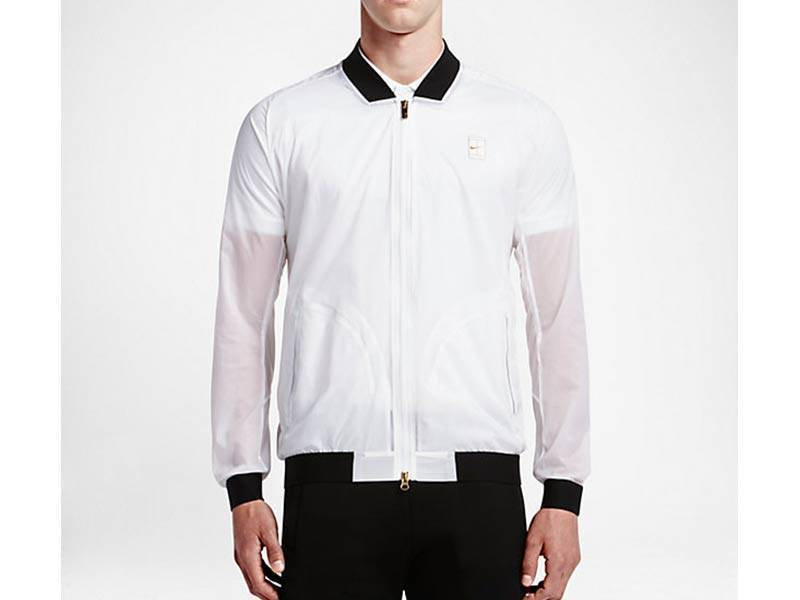Court Bomber White/Black/Metallic Gold 789568