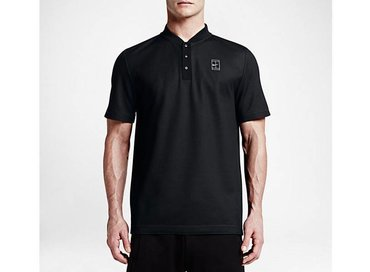 Nike Court Polo Black/Black/Black/White 743996 010