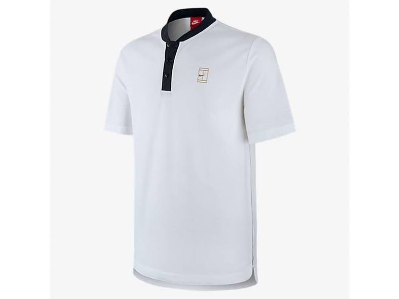 Court Polo White/White/Black/Metallic Gold 743996 100