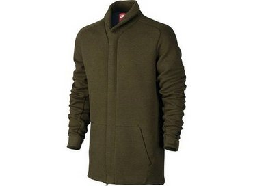 Nike Men's Sportswear Tech Fleece Jacket Dark Loden/Heather Black 805164 330