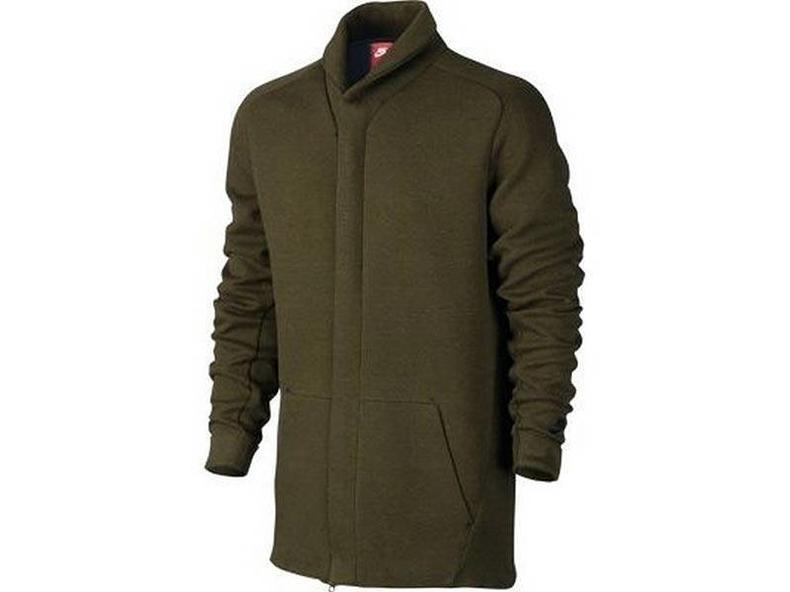 Men's Sportswear Tech Fleece Jacket Dark Loden/Heather Black 805164 330