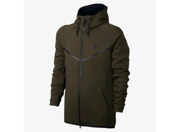 Men's Sportswear Tech Fleece Windrunner Hoodie Dark Loden/Heather/Black 805144 330