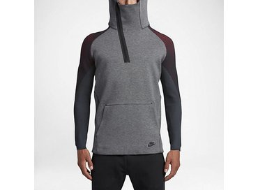 Tech Fleece Hoody Carbon Heather/Black 805655 063