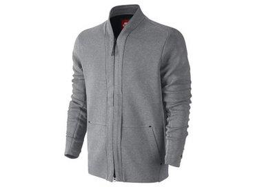 Nike Tech Fleece Longsleeve Vest Carbon Heather Obsidian 744481 091