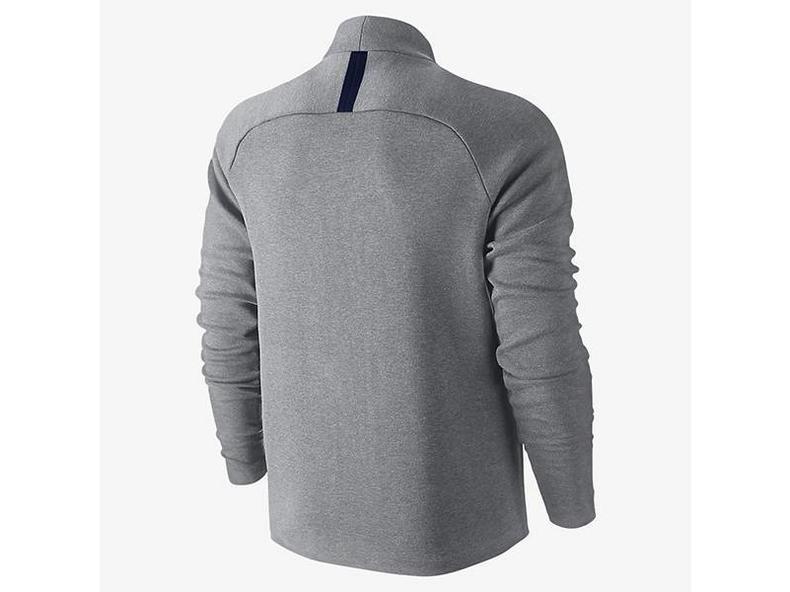 Tech Fleece Longsleeve Vest Carbon Heather Obsidian 744481 091