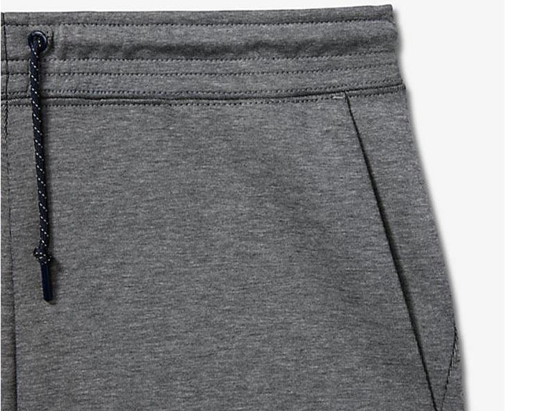 Tech Fleece Short 2.0 Carbon Heather/Obsidian 727357 091