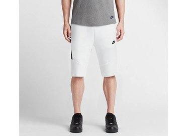Nike Tech Fleece Short 2.0 White/Black 727357 100