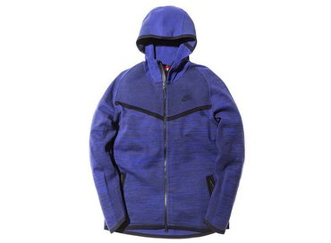 Nike Tech Knit Windrunner Deep Royal Blue/Obsidian 728685 451