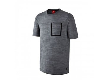 Men's Sportswear Tech Knit Top Black/Ocean Fog/Blue Grey/Black 729397 010