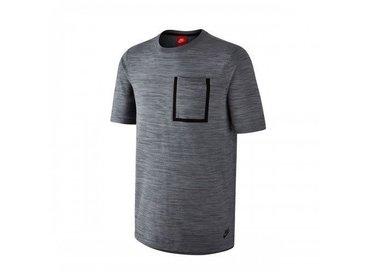 Nike Men's Sportswear Tech Knit Top Black/Ocean Fog/Blue Grey/Black 729397 010