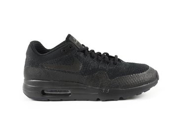 Nike Air Max 1 Ultra Flyknit Black/Black/Anthracite 856958 001