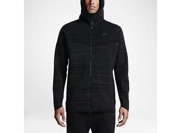 Nike Men's Sportswear Tech Knit Windrunner Jacket Black/Anthracite 728685 010