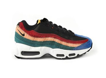 WMNS Air Max 95 Black/Black/Dark Cayenne/Rio Teal 807443 003