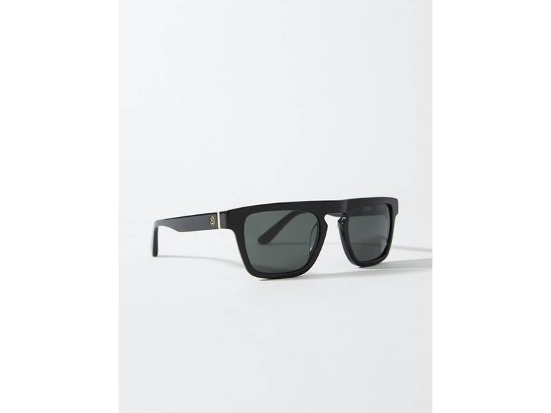 Louie Sunglasses Matte Black/Gold 140006