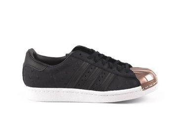 Adidas Superstar 80s Metal Toe Black/Black S76712