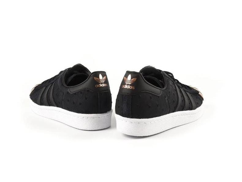 Superstar 80s Metal Toe Black/Black S71712