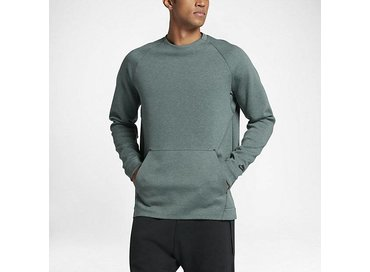 Men's Sportswear Tech Fleece Crew Hasta Heather/Black 805140 386
