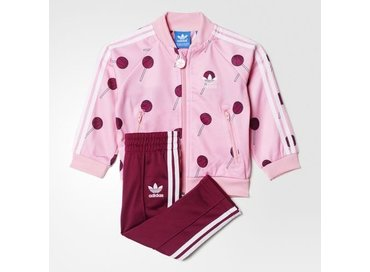 Basketball Superstar Track Suit Pink AI9985
