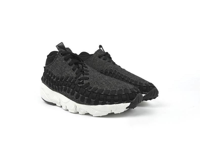 Footscape Woven Chukka SE Black/Black/Ivory 857874 001
