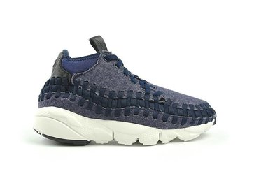 Air Footscape Woven Chukka SE Obsidian/Black/Sail 857874 400