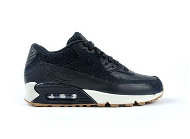 Nike Air Max 90 Premium Black/Black-Sail 700155 001