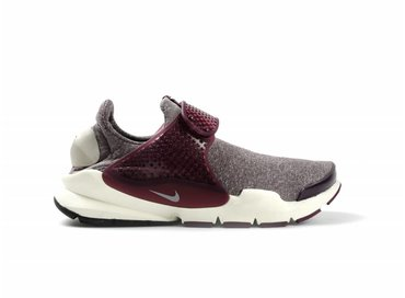 Nike WMNS Sock Dart SE Night Maroon/LT Iron Ore 862412-600