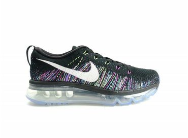 Nike WMNS Flyknit Max Black/Summit White/Ghost Green 620659 007