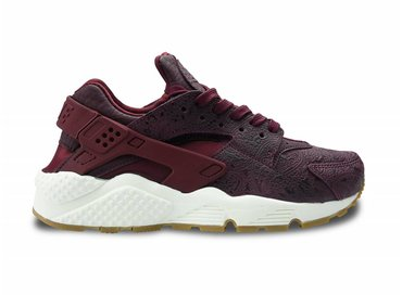 WMNS Air Huarache Run PRM Night Maroon 683818 600