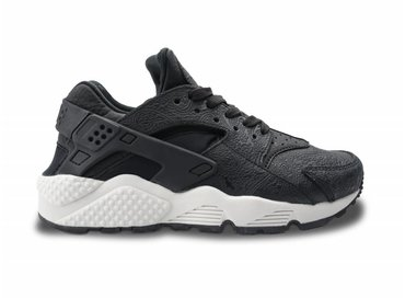 WMNS Air Huarache Run PRM Black/Black/Light Bone 683818 010