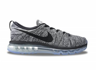 Nike Flyknit Air Max White/Black 620469 105