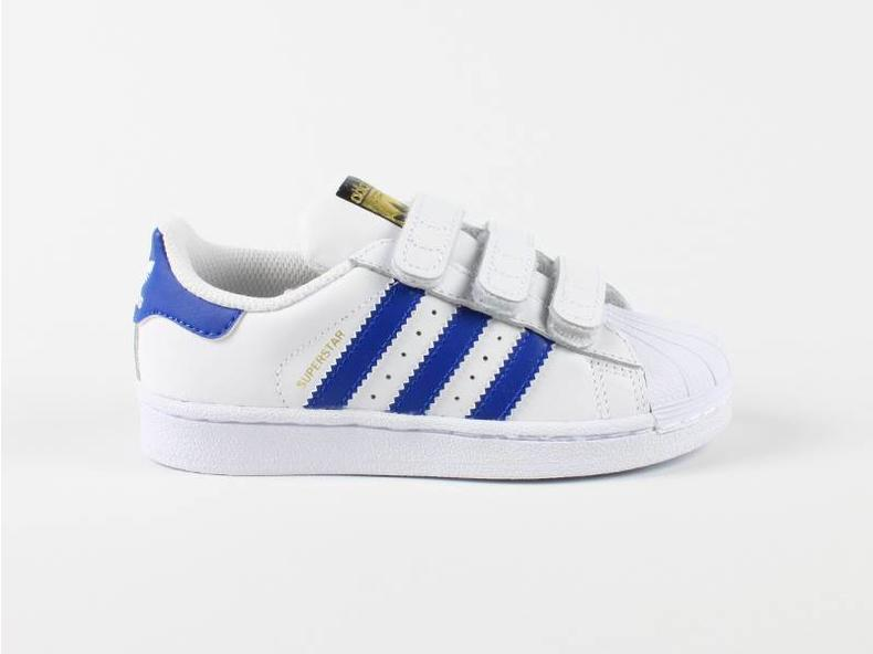 Superstar Foundation CF C White/Blue S74945