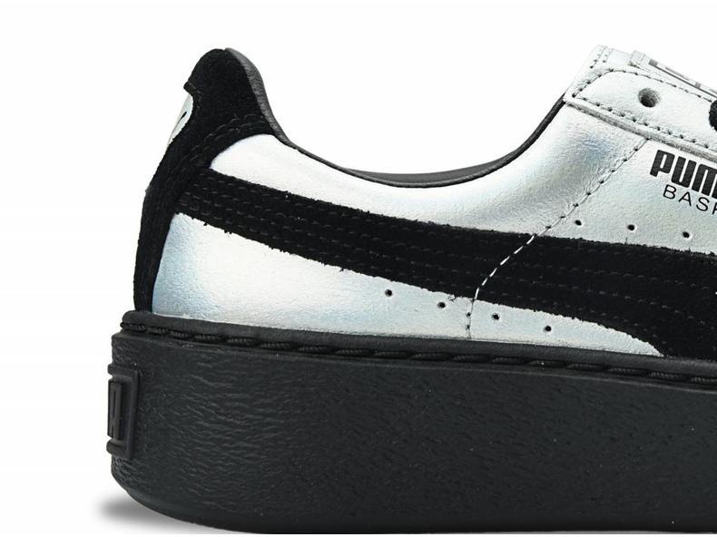 Basket Platform ExplosiveWn's Silver/Black 363627 01