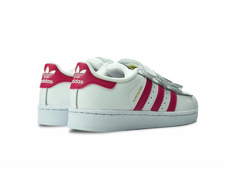 Superstar Foundation CF C White/Pink B23665